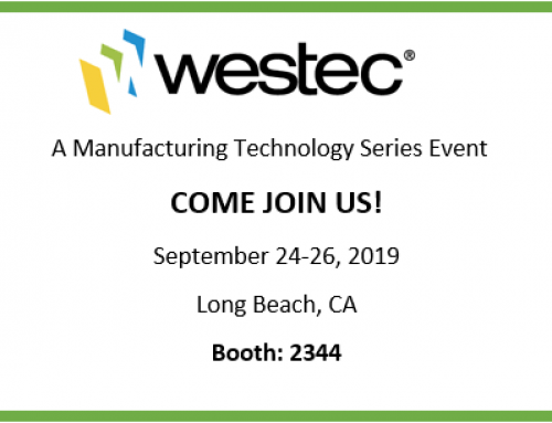 Come Join us at Westec 2019!