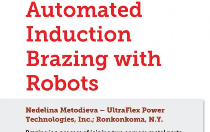 induction brazing using robots article