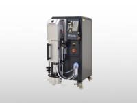 pressure over vacuum casting system
